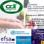 CdIagrocv informa sobre Covid-19 y sector agroalimentario.